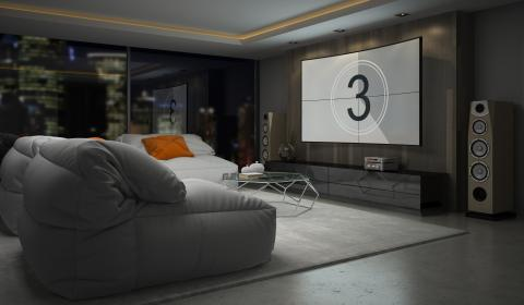 Zo richt u de ideale home cinema in