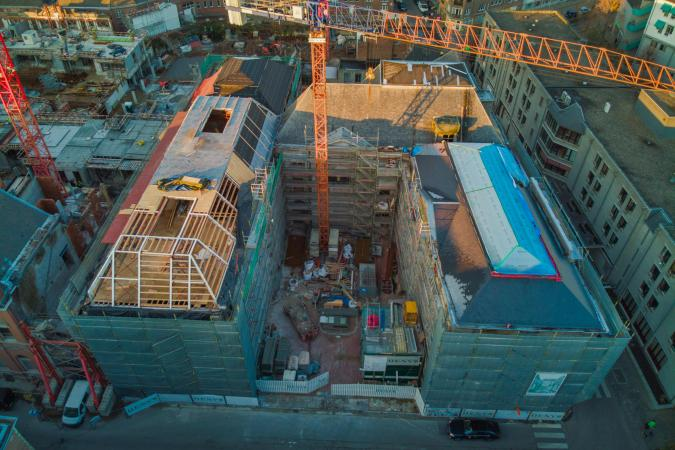 Nieuwbouwproject Academie - Pictura - Gent D9000-18094-A3.02-IW